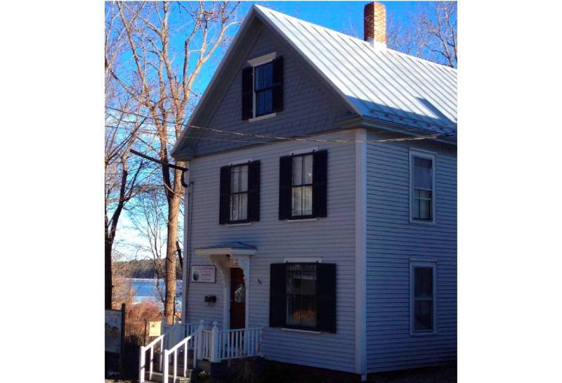 Front of Cottage - Waterfront Cottage, Stroll Away from Historic Bath - Bath - rentals