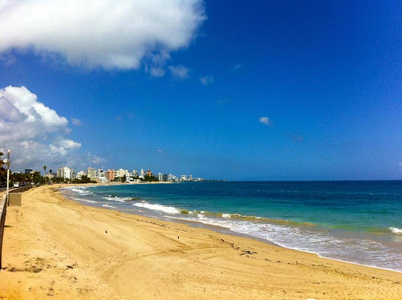The famed Ocean Park beach 3 minutes walk from our guesthouse - 3 Bedroom 3 Bath apartment, minutes walk 2 beach - San Juan - rentals