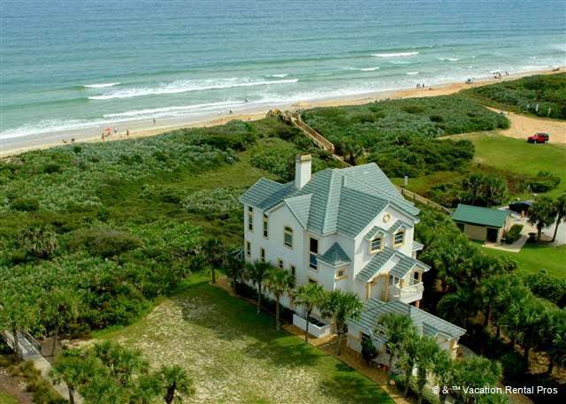 The belle of the beach is here - Beach Belle, Luxury Ocean Front, elevator, private pool - Palm Coast - rentals