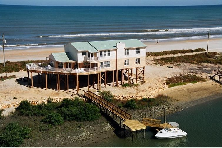 Amazing top view. - Fall $pecials 1900.00  St Augustine 1 OF A KIND Ocean/Riverfront Home - Daytona Beach - rentals