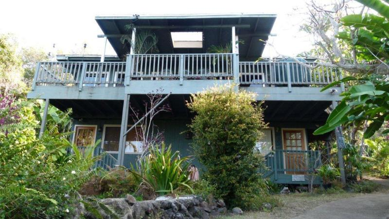 Main house - Rainbow Plantation B&B - peaceful oceanview retreat - Captain Cook - rentals