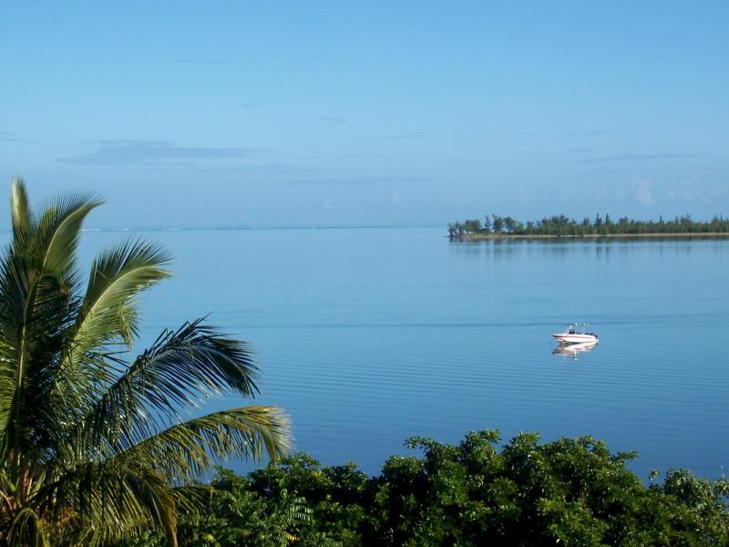 Lagoon view from Casa Dodo - Casa Dodo Suites   Kite & Wind Surfing Haven! - La Gaulette - rentals