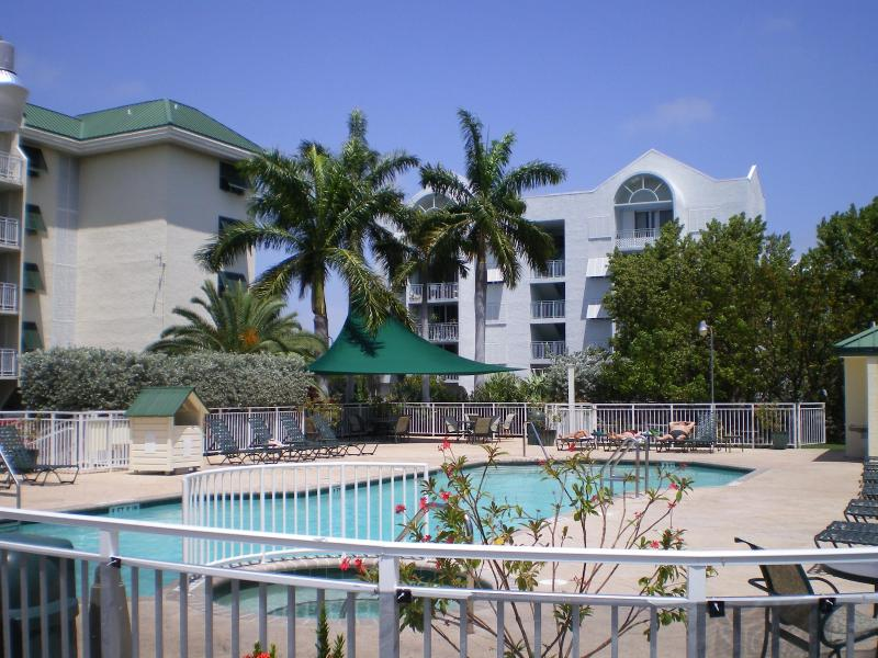 pool and sunshade area - 2 bedroom Condo Presented Key West Style - Key West - rentals
