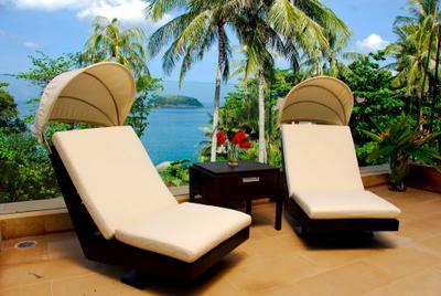 Designer furniture throughout - 1st ROW Waterfront Luxury Villa With CHEF - Phuket - rentals