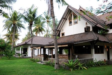 Main House and Garden - 3 bedroom family house to rent in Gili Trawangan - Gili Trawangan - rentals