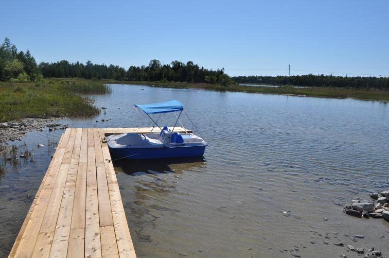 Backyard Dock - 3 Bedroom Waterfront Cottage with Great Views! - Tobermory - rentals