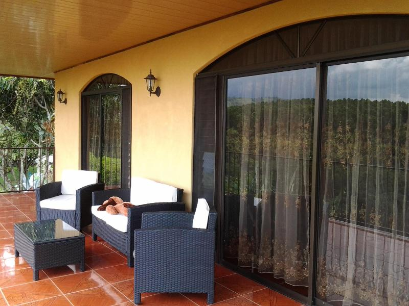 Terrace - Delux apartment overlooking Mountains - Alajuela - rentals