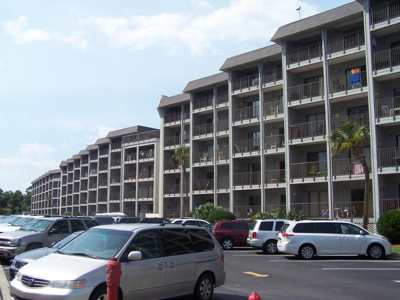 A BUILDING PIC - MYRTLE BEACH RESORT 2 BEDROOMS A&B BUILDING - Myrtle Beach - rentals