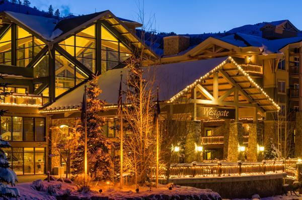 Entrance to the Westgate Resort - Westgate Resort at Canyons Luxury Studio/1BR Condo - Park City - rentals