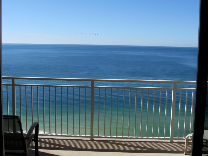 View of the Gulf of Mexico from your private balcony. - Gorgeous condo on America's most beautiful beach - Panama City Beach - rentals