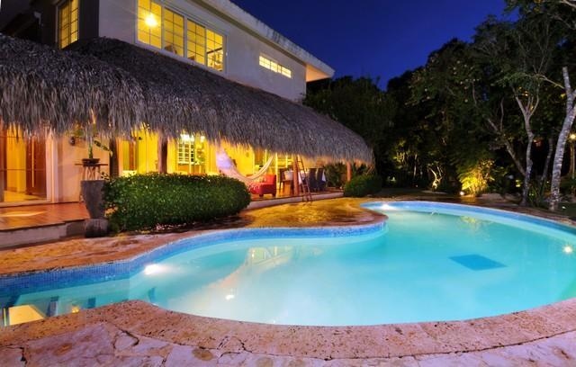 Pool Terrace - Peaceful Home in Tortuga Bay inside the PC Resort - Punta Cana - rentals