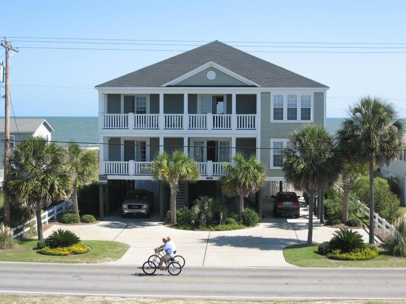 Luxury Oceanfront Home w/Pool & Hot Tub 8BR/7.5BA - Image 1 - Garden City Beach - rentals