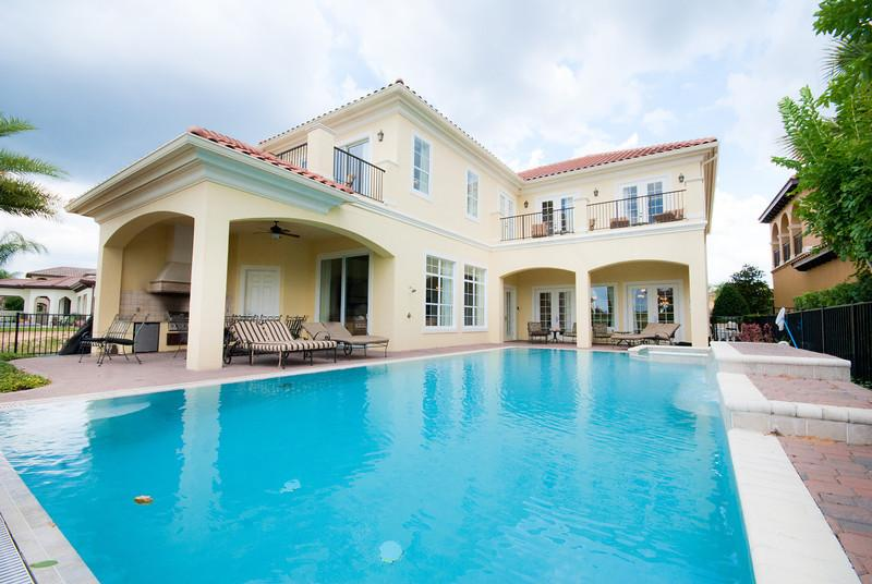 Stunning, nicely furnished 5 bed home - large pool - Image 1 - Reunion - rentals