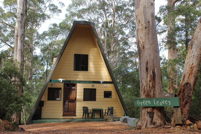 Green Leaves A-Frame - front view - Green Leaves Cabin A-Frame - Denmark - rentals