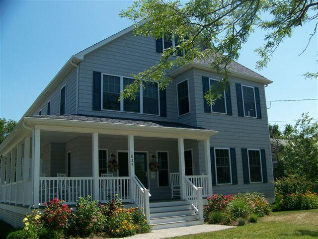 Relax on Your Wrap-Around Covered Porch - 5 Bedroom Cape May Beach Beauty with Private Pool! - Cape May - rentals