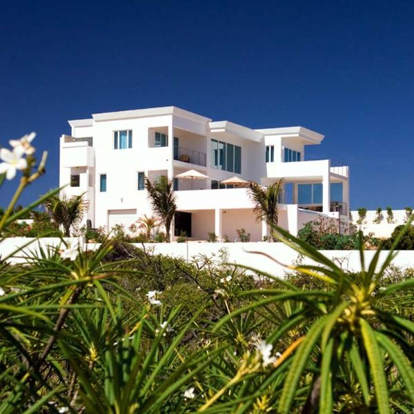 Tequila Sunrise Villa at Lovers Cove @ Dropsey Bay, Anguilla - Beachfront, Pool, Secluded Lover's Cove - Image 1 - Anguilla - rentals