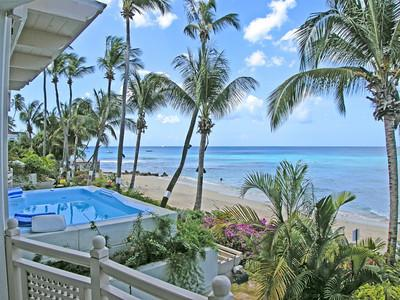 Reeds House 10 at Reeds Bay, Barbados - Beachfront, Pool, Short Drive To Holetown And Speightstown - Image 1 - Reeds Bay - rentals