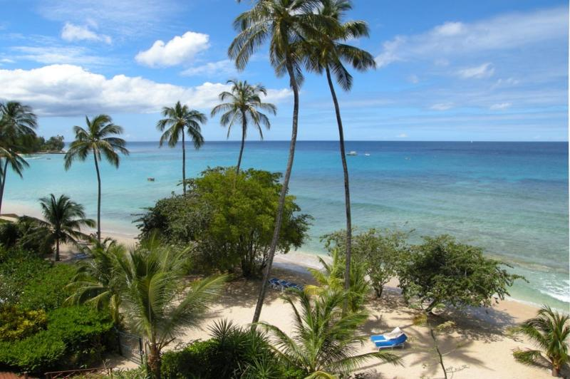 Schooner Bay 205 at Speightstown, Barbados - Beachfront, Communal Pool, Amazing Sunset View - Image 1 - Saint Peter - rentals