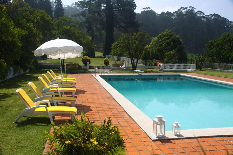 Swimming Pool - Casa D'Quinta: pool, tennis court, gardens - Vila do Conde - rentals