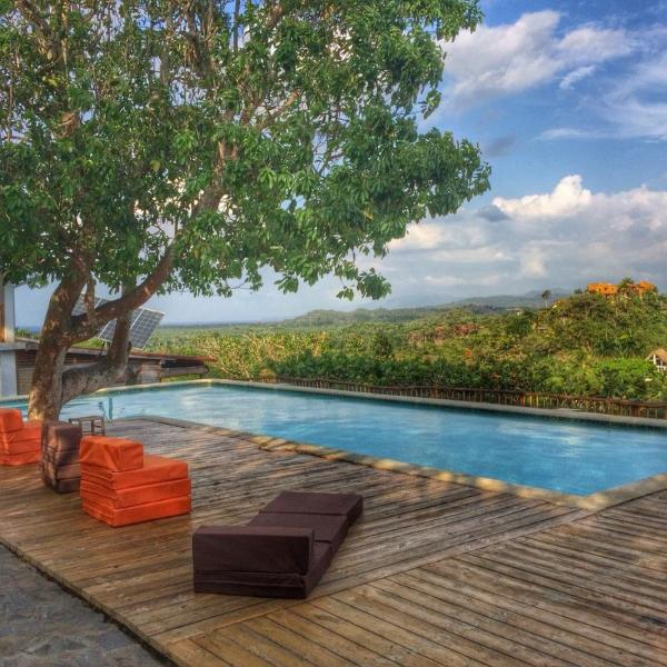 Pool area  - Spend some time in the corner of paradise - Las Terrenas - rentals