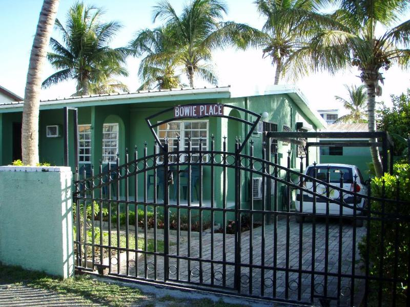 White Sands Retreat - front gate - White Sands Retreat - Beachside at Beacon Hill - Simpson Bay - rentals