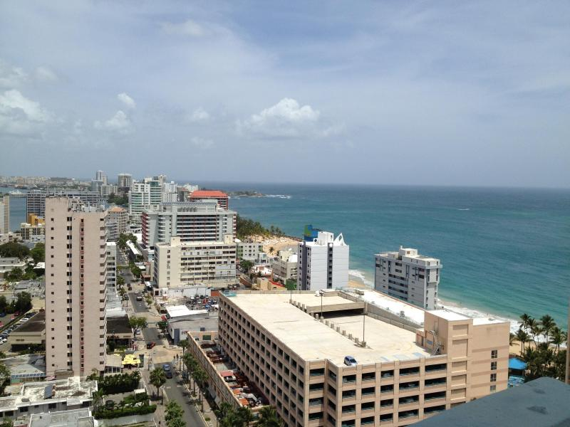 Balcony view  - Great Condo w/Breathtaking Ocean Views! - San Juan - rentals