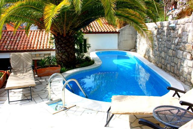 Ample seating for lounging by the pool - Villa Bellagio-luxury 4br villa with pool! - Dubrovnik - rentals