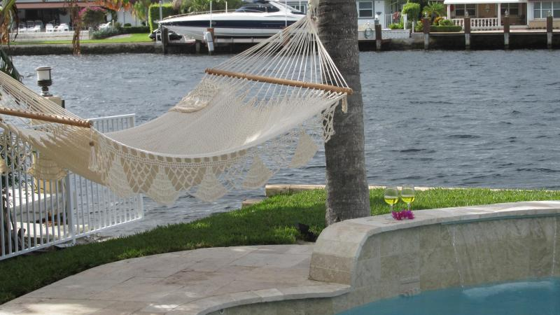 Beautiful  Waterfront Family-Home, heated pool - Image 1 - Pompano Beach - rentals