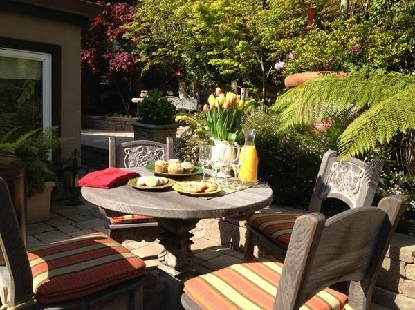 Outdoor Dining Area - Luxurious 3 BD Cottage: Quintessential Carmel! - Carmel - rentals