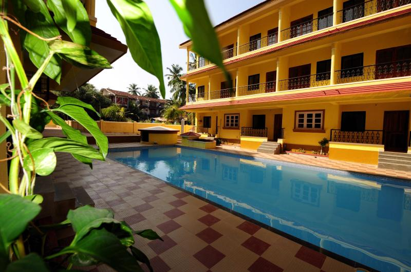 The complex - The Chimes-Luxury apartments for families & couples - Candolim - rentals