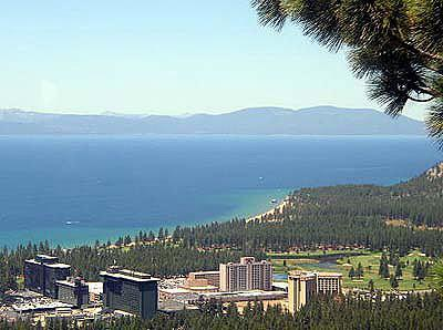 View of downtown Lake Tahoe - Comfortable & Convenient 2BR Heavenly Condo - South Lake Tahoe - rentals