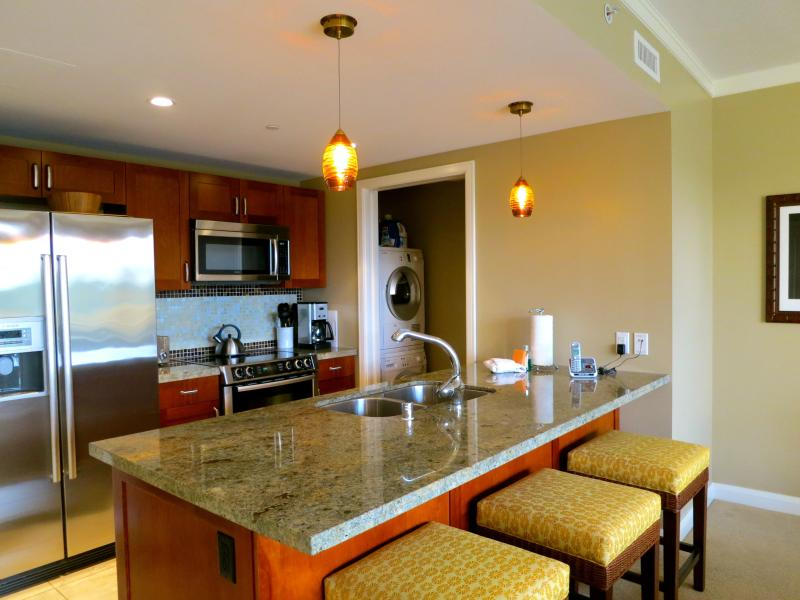 Gourmet kitchen with all the appliances you will need, even a blender. - Honua Kai Beachfront Luxury Condo w/ Private Lanai - Lahaina - rentals