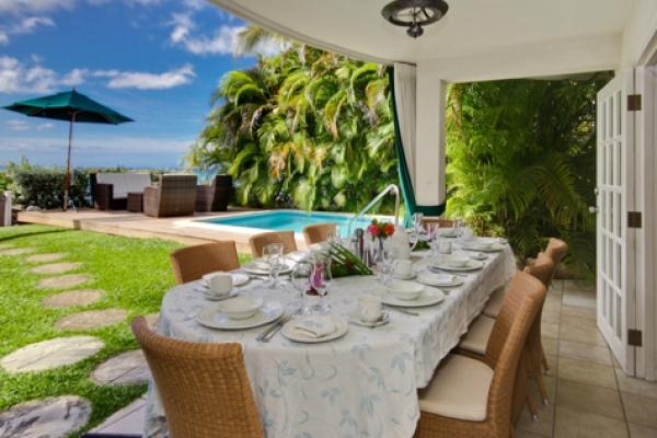 Incredible Outdoor Dining  - Nirvana: Perfect Beachfront Happiness - Saint James - rentals