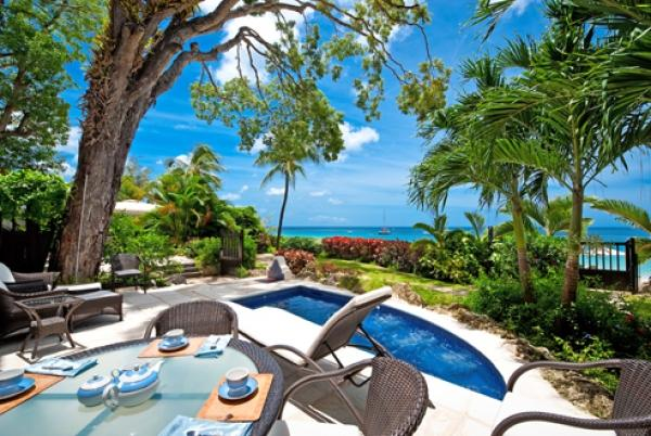 Trendy Outdoor Living - Coral Cove 2-The Mahogany Tree: Luxury Beachfront - Saint James - rentals