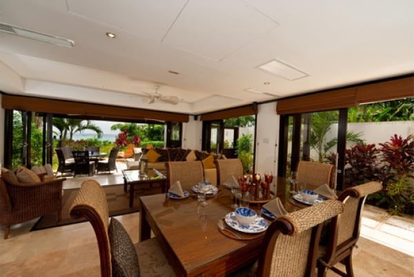 Fabulous Dining Area  - Coral Cove 3-Green Flash: Stylish and Sophisticated - Saint James - rentals