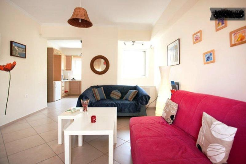 Comftable living room with 2 sofas - Brand new apartment only 10 min from ACROPOLIS. - Athens - rentals