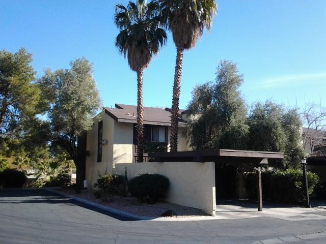 The house from the street - Next to The Strip, Pvt. Hot Tub in Gated Community - Las Vegas - rentals