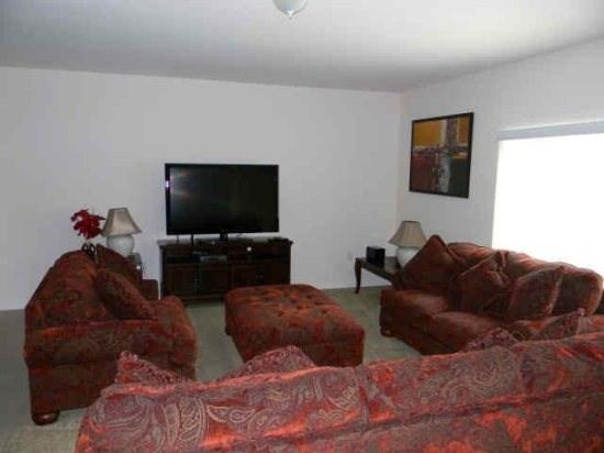 Family Room - CYP6P1067CPB 6 BR Gorgeous Pool Home with a View - Davenport - rentals