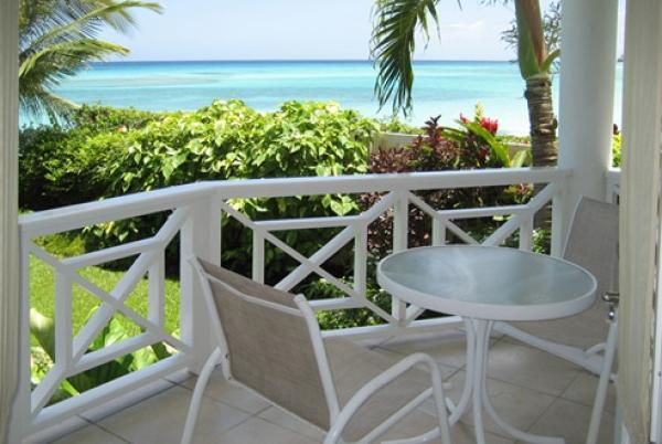 Nautilus - view of the Caribbean Sea - Nautilus: Cosy Beachfront Condo - Christ Church - rentals