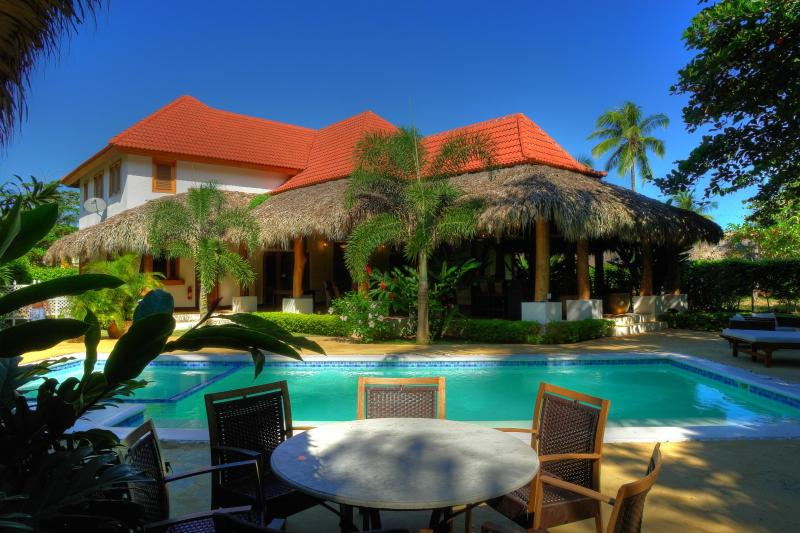 View from the poolhouse - Villa Chana - living luxury outside - Las Terrenas - rentals