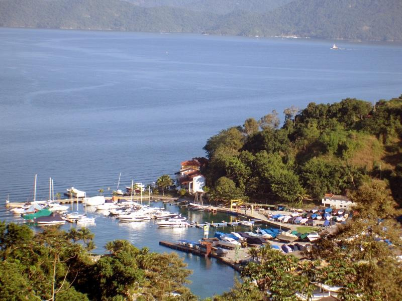 View of the varanda - Flat Hotel Portogalo  -  ocean and montains - Angra Dos Reis - rentals