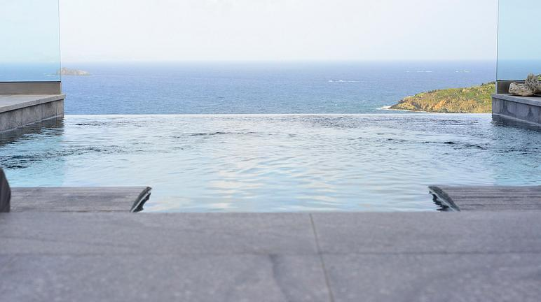 Villa Crystal luxury & private pool amazing view - Image 1 - Dawn Beach - rentals