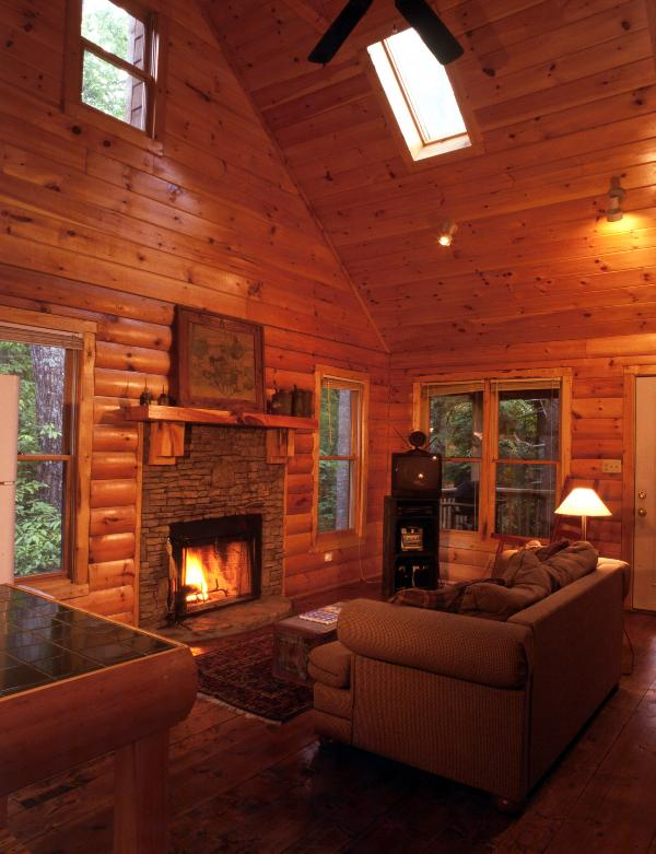Stacked Rock, Wood-Burning Fireplace - Laurel's Rest - Nestled in Forest with Hot Tub! - Chatsworth - rentals