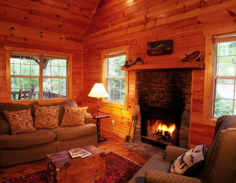 Stacked Rock, Wood-Burning Fireplace - Shanty Creek - Perfect for Romantic Getaway! - Ellijay - rentals