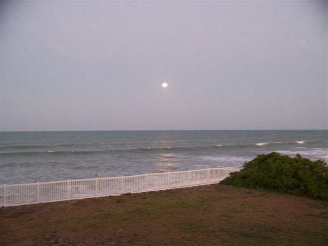 view from balcony - 2 bedroom, 2 bath condo on the beach! - Satellite Beach - rentals