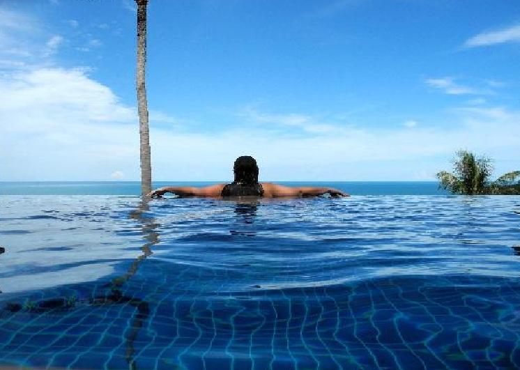 The Horizon Infinity Pool - Island View Villa - Chaweng - rentals