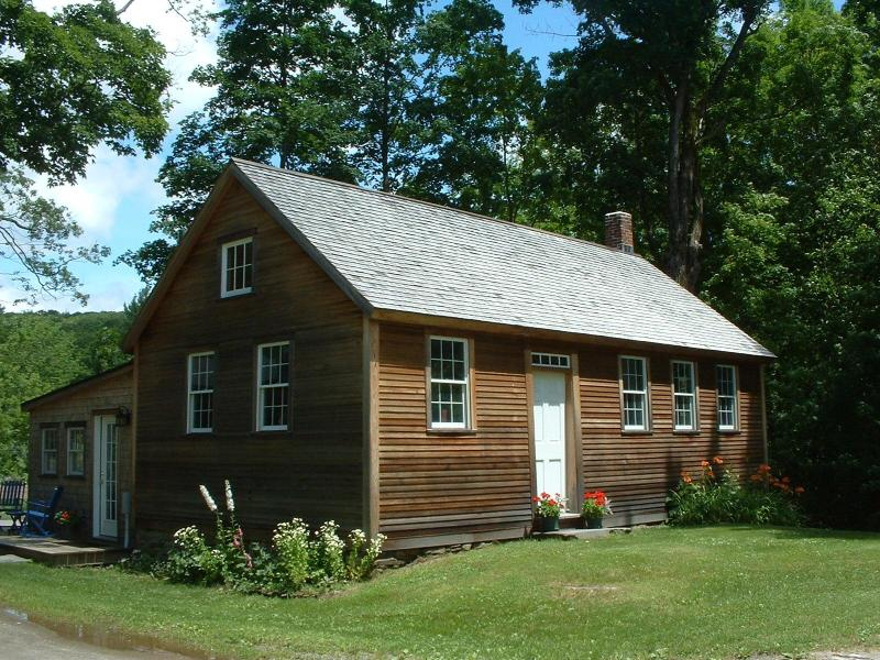 Front view of the 18th century schoolhouse - Schoolhouse No. 10 - Guilford - rentals