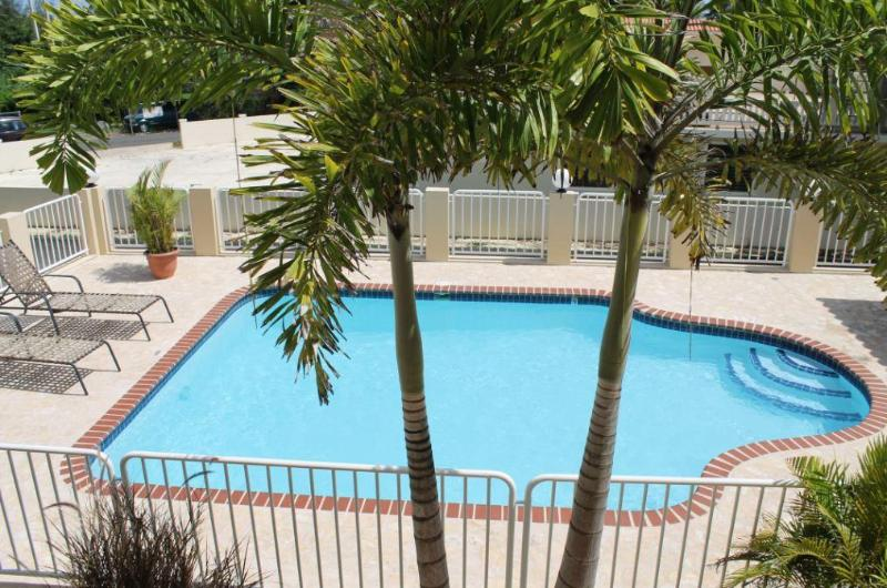 View from the balcony - Ocean Terrace Condo - Rincon - rentals