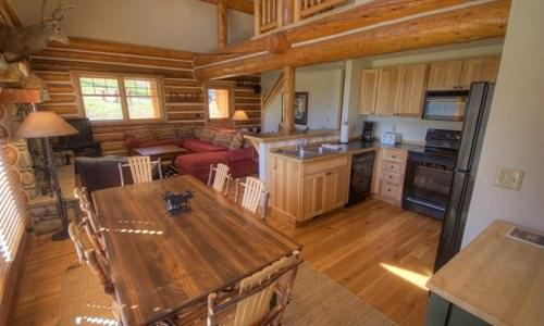 Powder Ridge Rose Bud (Cabin 115) - Image 1 - Big Sky - rentals
