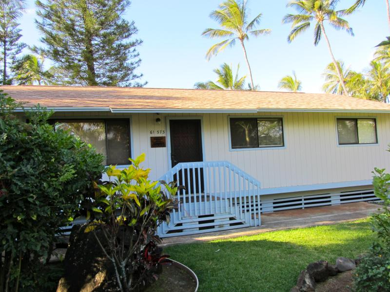 Front view of 3 Bedroom 2 bath - Paradise Ekahi 3 bedroom Beachfront/ North Shore - Haleiwa - rentals